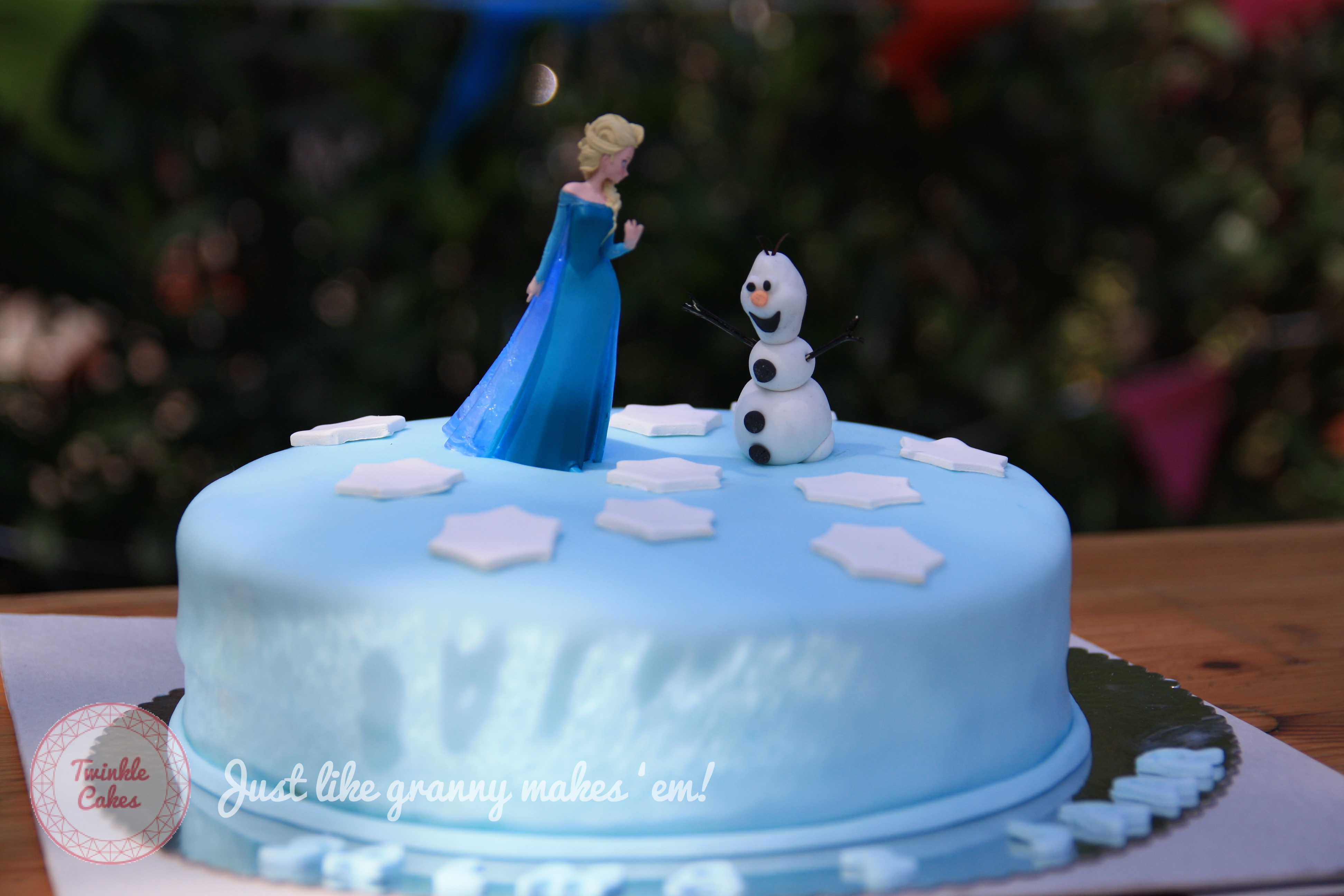 Frozen Birthday Party Just like granny makes em